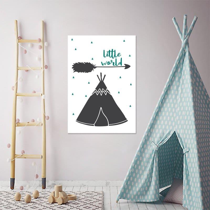 Modny motyw dekoracji do upiększenia pokoików dziecięcych