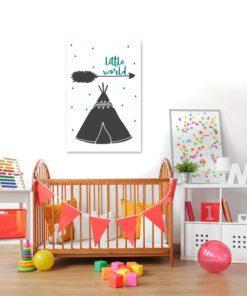 Dekoracja w stylu skandynawskim do upiększenia ścian w pokoju dziecka
