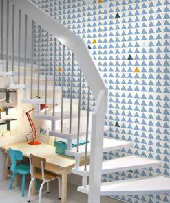 Fototapeta do pokoju dziecka - modne trójkąty