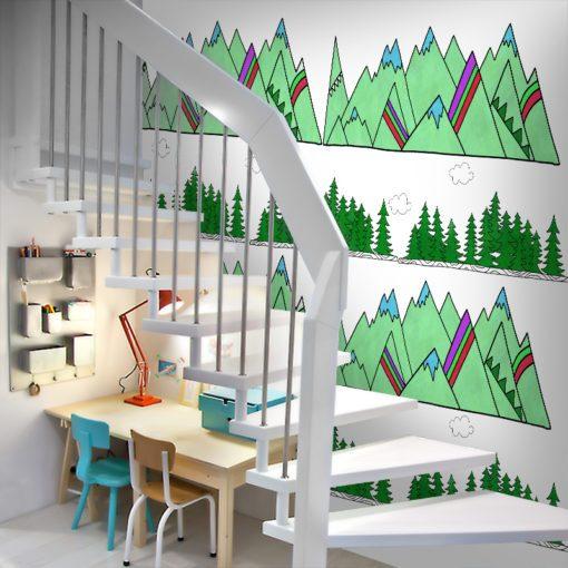 Fototapeta w przyjemnej kolorystyce do pokoju dziecka