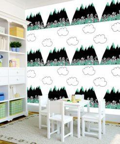 Urocza fototapeta do upiększenia ścian w pokoikach dla dzieci