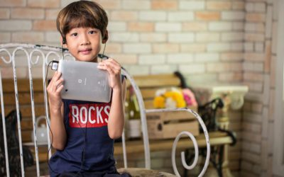Dziecko w krainie technologii