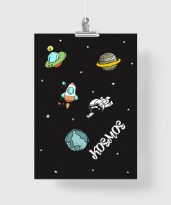 plakat do pokoju dziecka kosmos