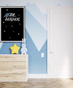 plakat dla chłopca - kosmos
