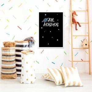 plakat z gwiazdkami