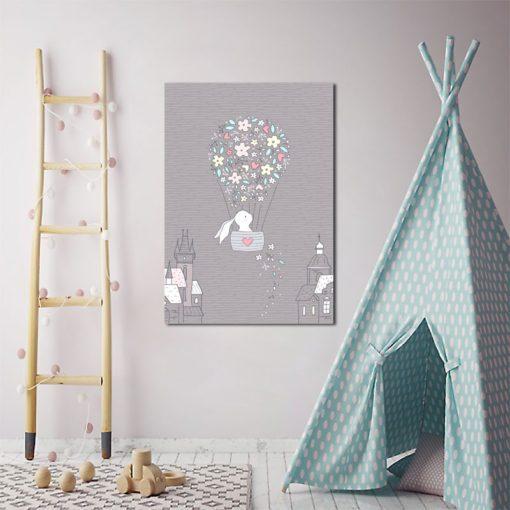 plakat nad łóżeczko dziecka