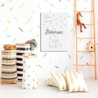 piękny obraz do pokoju dziecka