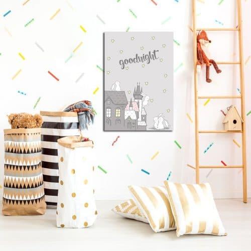 piękny plakat do pokoju dziecka