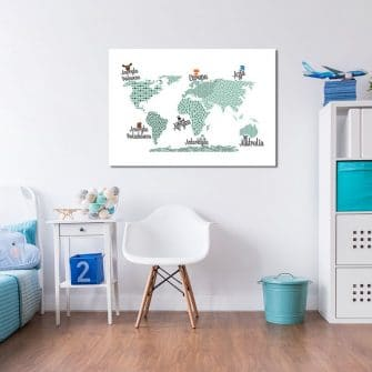 dekoracje mapy