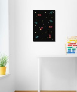 obrazek z planetami