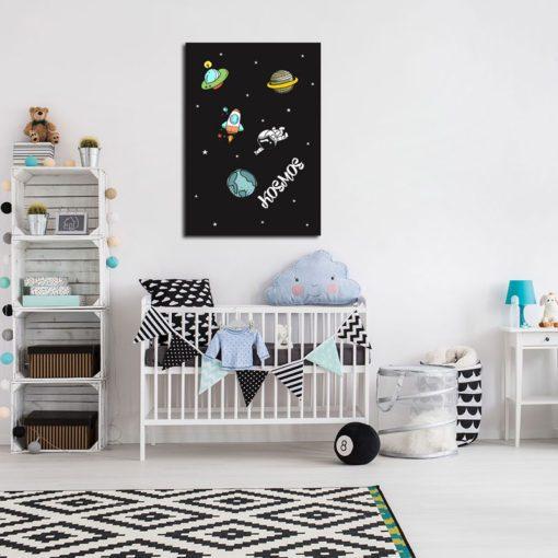 pokój chłopca - plakat na ścianę