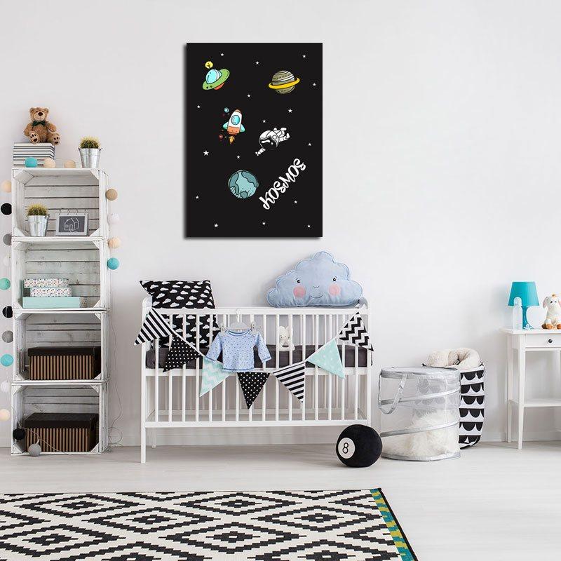 Plakat Kosmos Do Pokoiku Chłopca