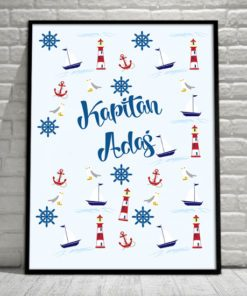 plakat marynarskie wzory