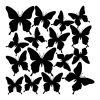 naklejka motylki
