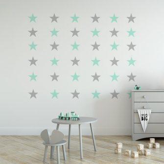 naklejka do pokoju dziecka gwiazdki