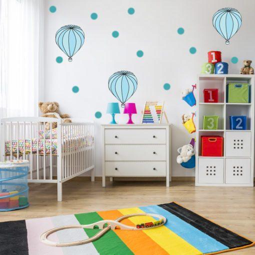 balony - naklejki na ścianę