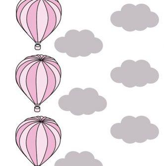 balony na ścianę - naklejki