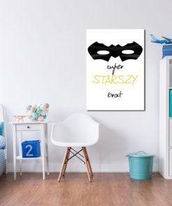 Superbohater - plakat dla dziecka