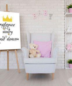 plakat na ścianę - najlepsze siostry pod słońcem