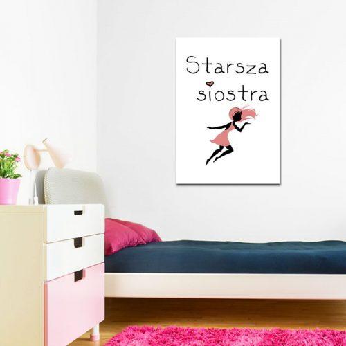 plakat do pokoju dziewczynki