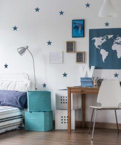 gwiazdki na ścianę, naklejki