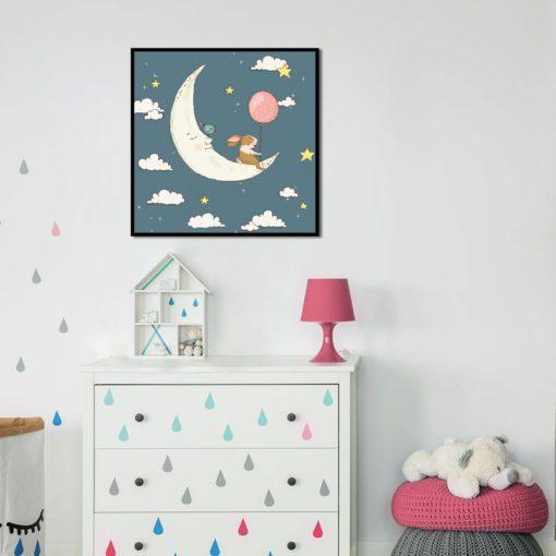 plakat dla dziecka do sypialni