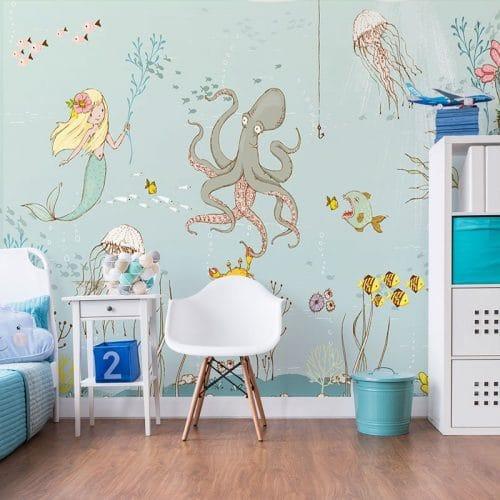 sienna dekoracja morska