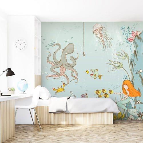 morskie zwierzęta do pokoju dziecka