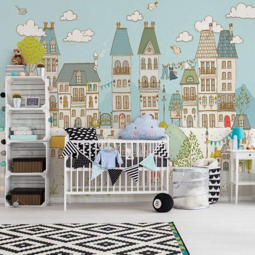 ścienna dekoracja do pokoju dziecka