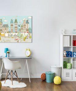 kolorowe miasto dla dziecka