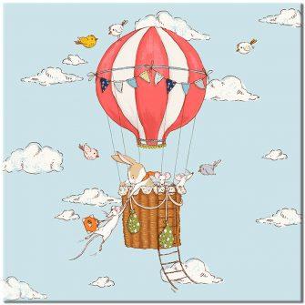 balonowy plakat