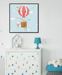 pokój dziecka z plakatem