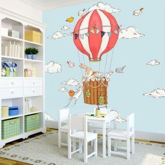 tapeta kwadratowa do pokoju dziecka