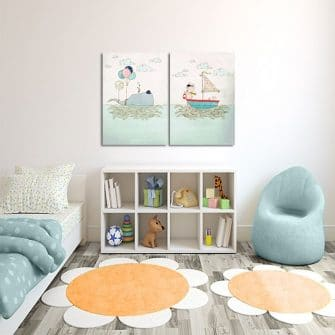 morski plakat do pokoju chłopca