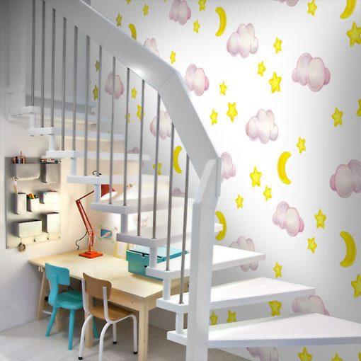 pokój dziecięcy z fototapetą dla dziecka