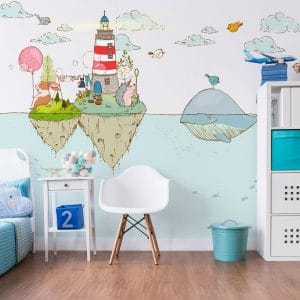 Dekoracje kolorowe do pokoju dziecka