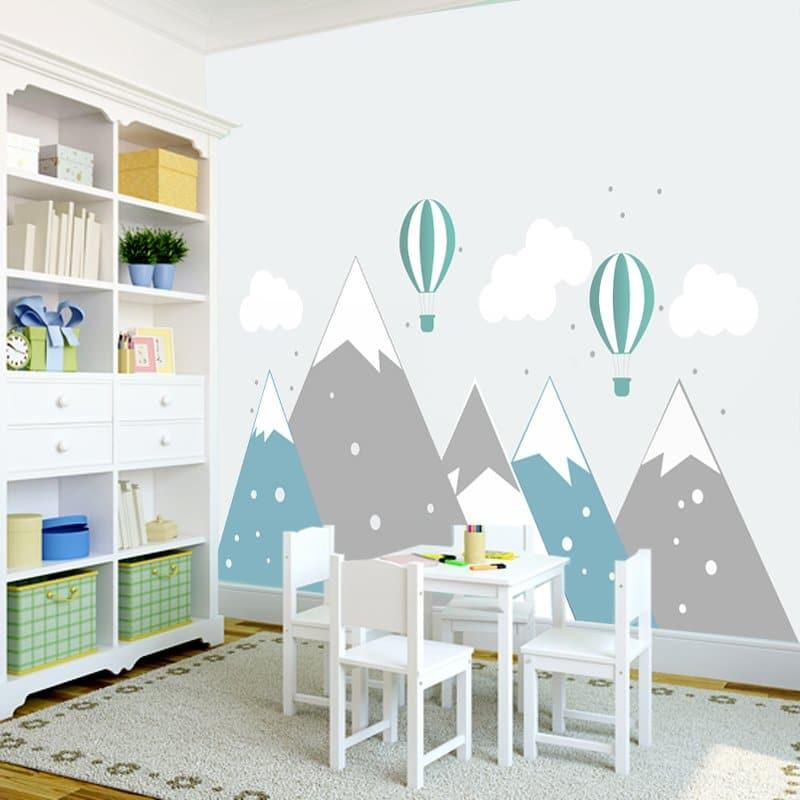 Dekoracje ścienne do pokoju dziecka