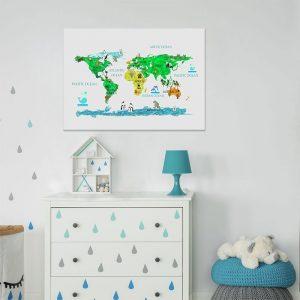obrazki do pokoju dziecka