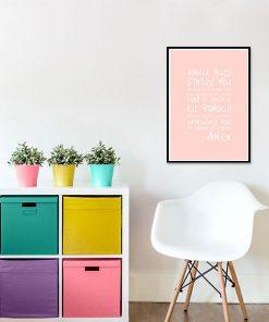 Plakat do pokoju dziecięcego
