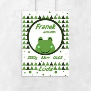 Plakaty dla dzieci zielone