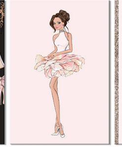 plakat tryptyk glamour