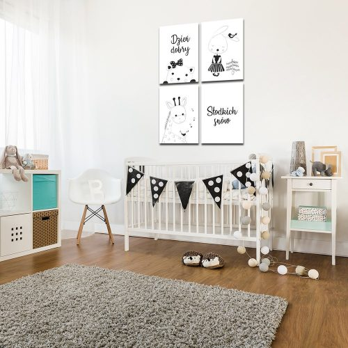 pokój dziecięcy z plakatami