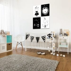 Plakaty nad łóżeczko dziecka