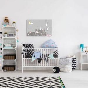Obrazy nad łóżeczko dziecka