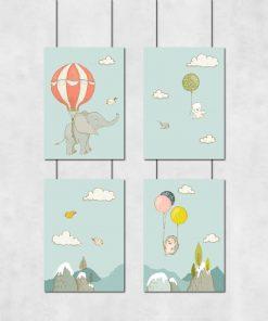 plakaty kolorowe dla dziecka