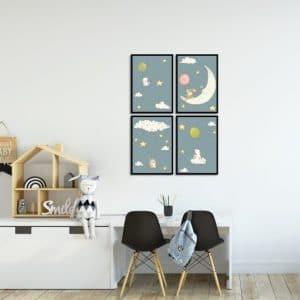 Plakaty dla niemowlaka
