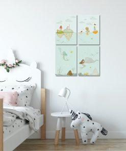 plakaty jako zestaw dla dziecka