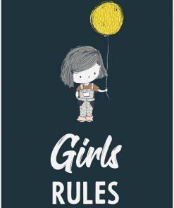 dziewczynka z balonem na plakacie