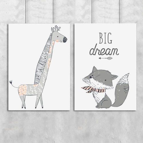 zwierzęta na plakacie