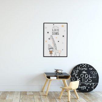 pionowy plakat do pokoju